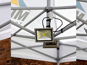 Zubehör LED Lampen mit Befestigung am gestänge