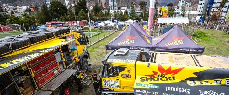 Octa Pro auf der Dakar